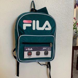 FILA 3PCS SET BACKPACK (unisex).